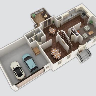 The Norwood 3D Floor Plan
